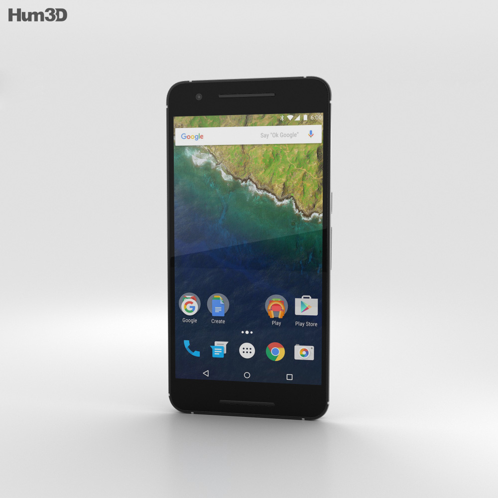 Huawei Nexus 6P Frost 3d model