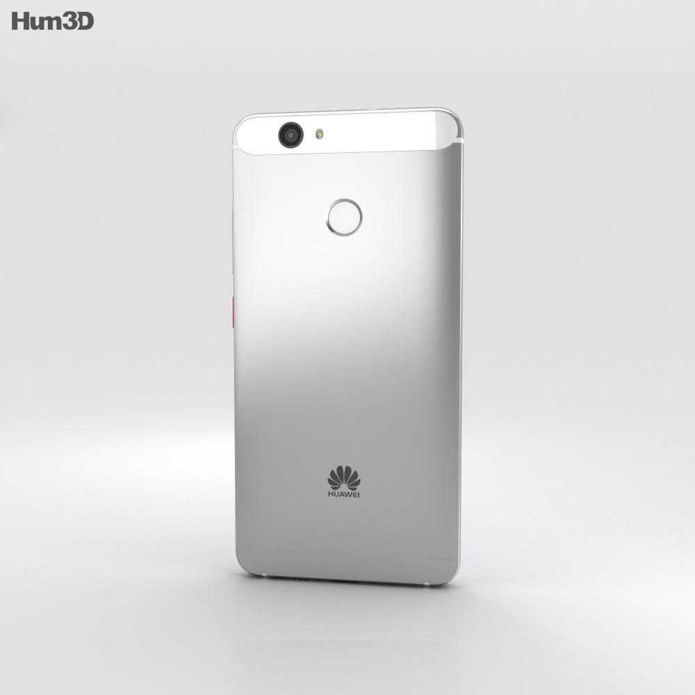 Huawei Nova Mystic Silver 3d model