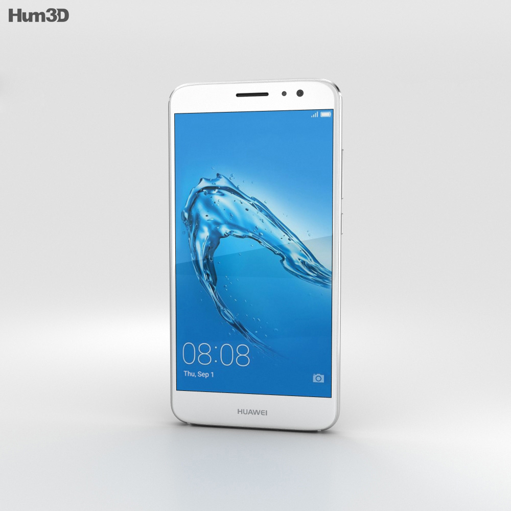 Huawei Nova Plus Mystic Silver 3d model
