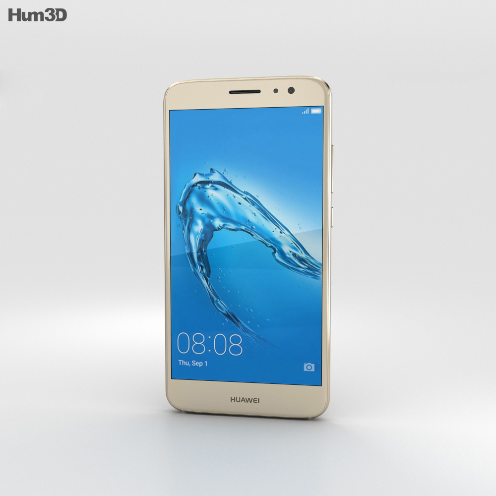 Huawei Nova Plus Prestige Gold 3d model
