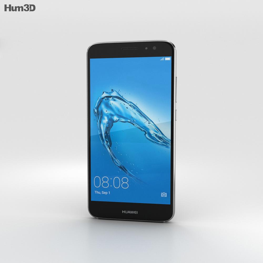 Huawei Nova Plus Titanium Grey 3d model