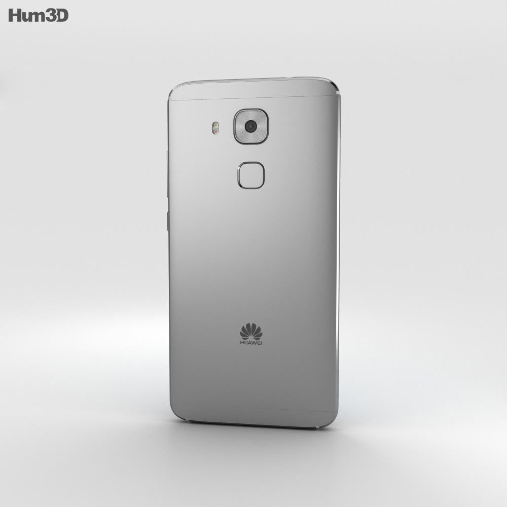 Huawei Nova Plus Titanium Grey 3d model