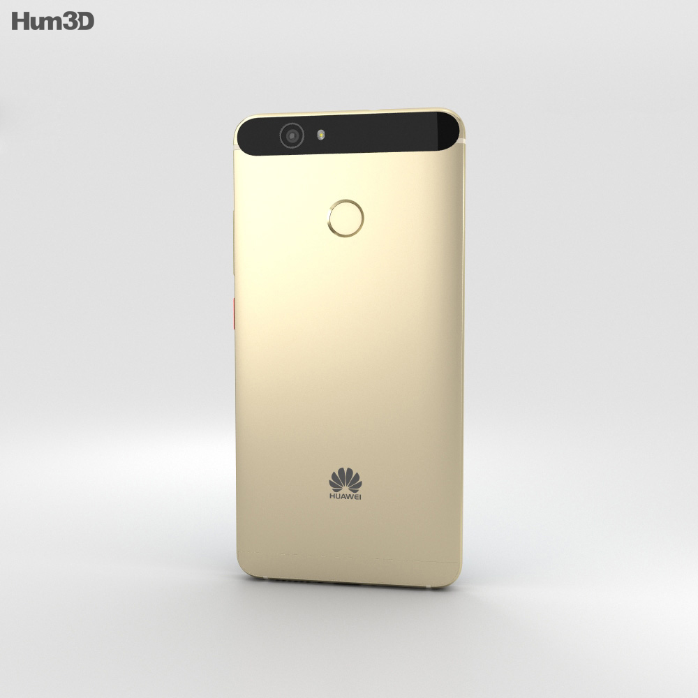 Huawei Nova Prestige Gold 3d model
