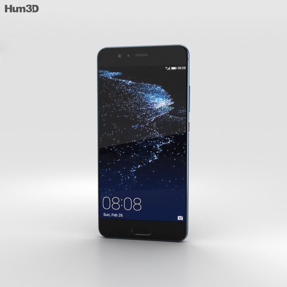 Huawei P10 Dazzling Blue 3d model