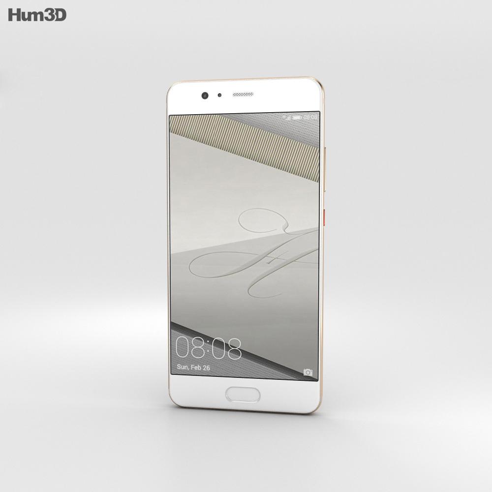 Huawei P10 Dazzling Gold 3d model