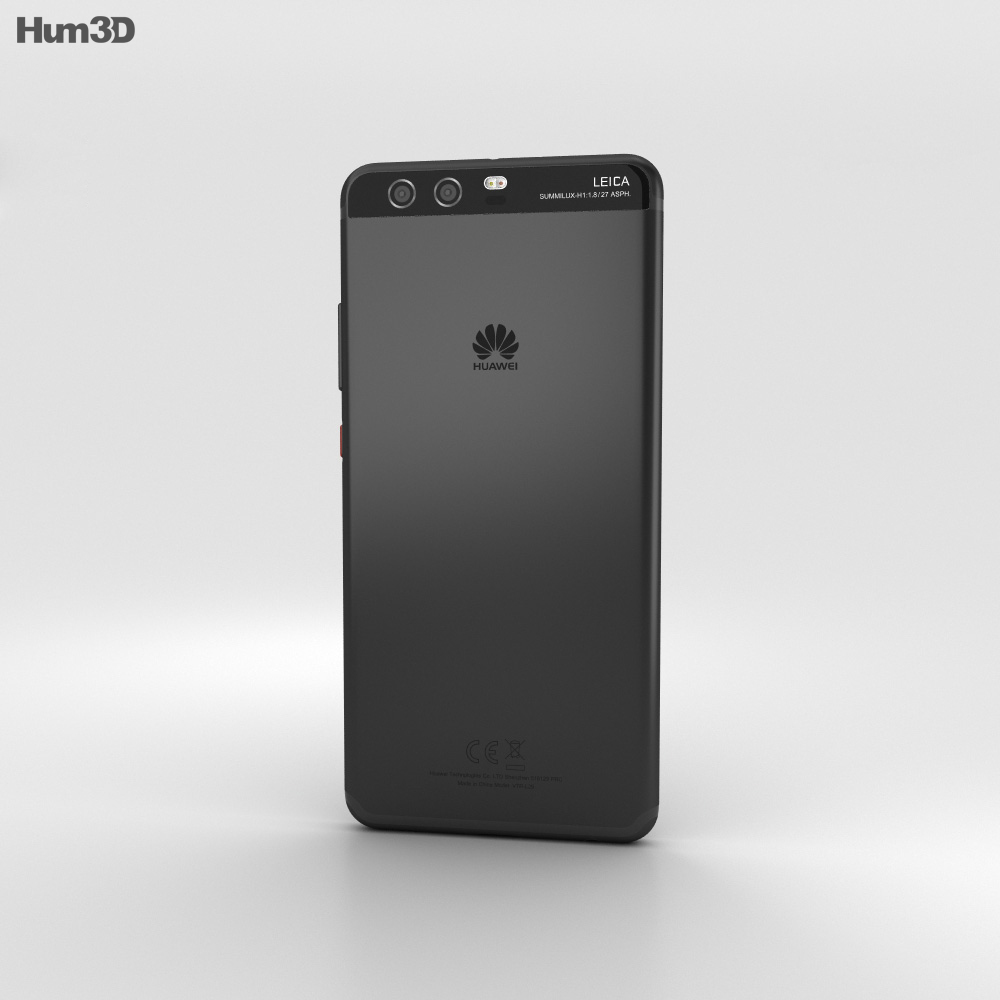 Huawei P10 Graphite Black 3d model