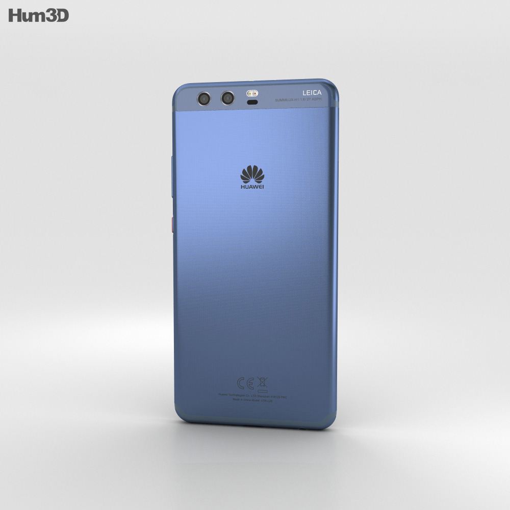 Huawei P10 Plus Dazzling Blue 3d model