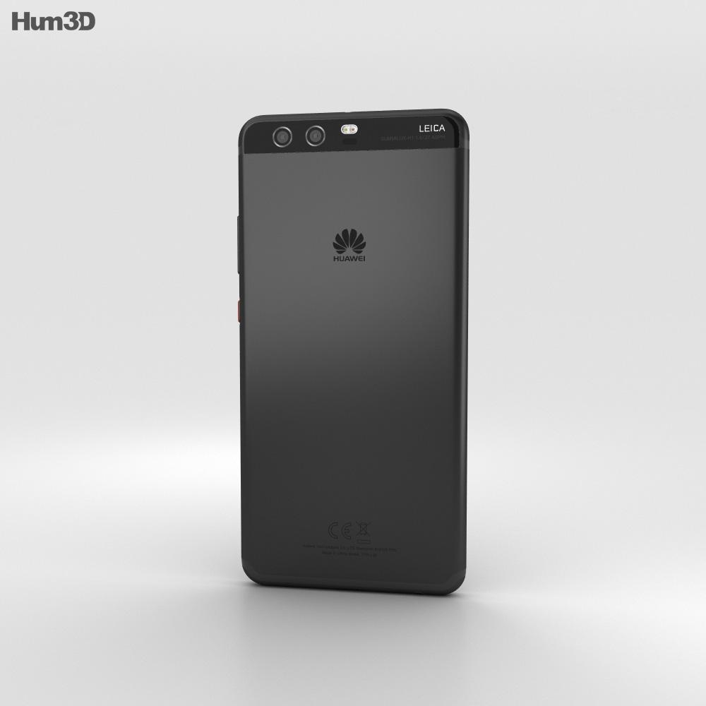 Huawei P10 Plus Graphite Black 3d model