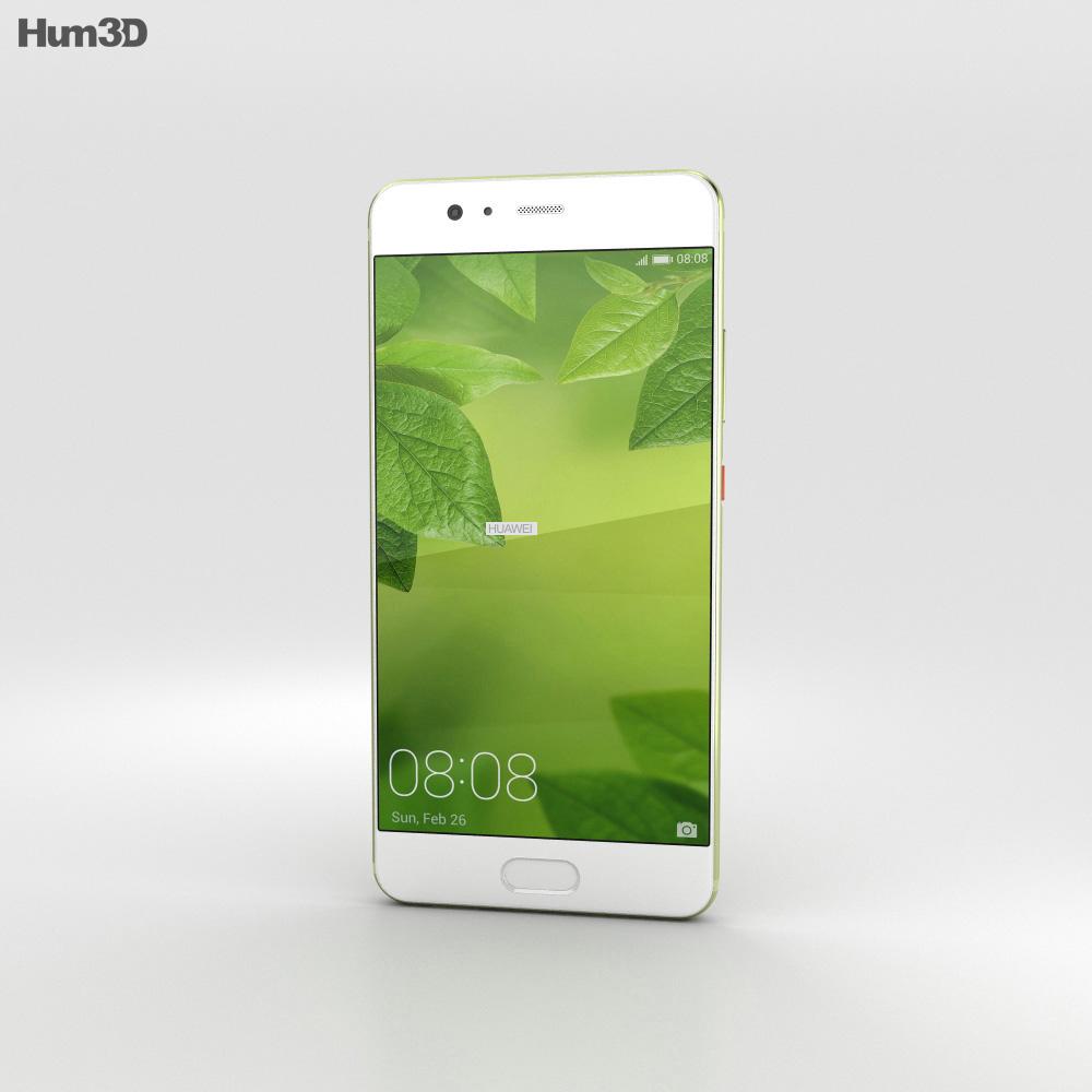 Huawei P10 Plus Greenery 3d model