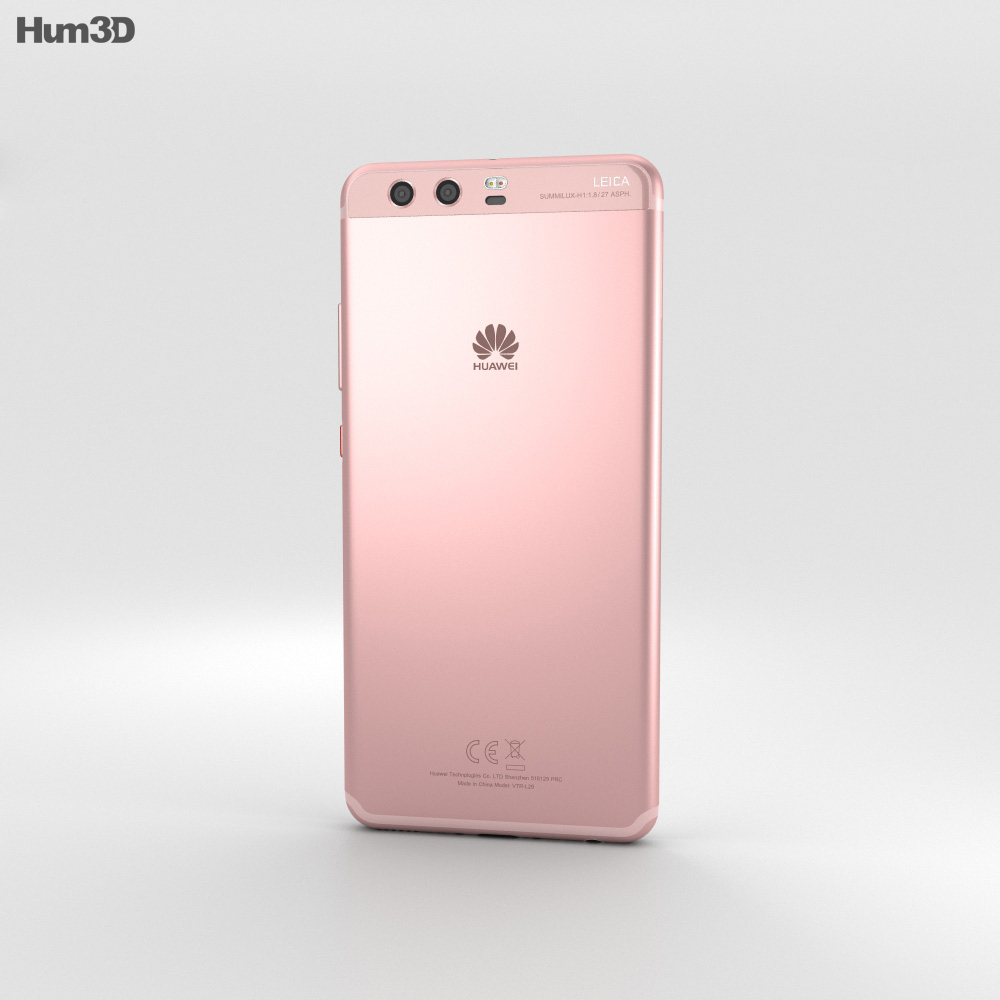 Huawei P10 Rose Gold 3d model