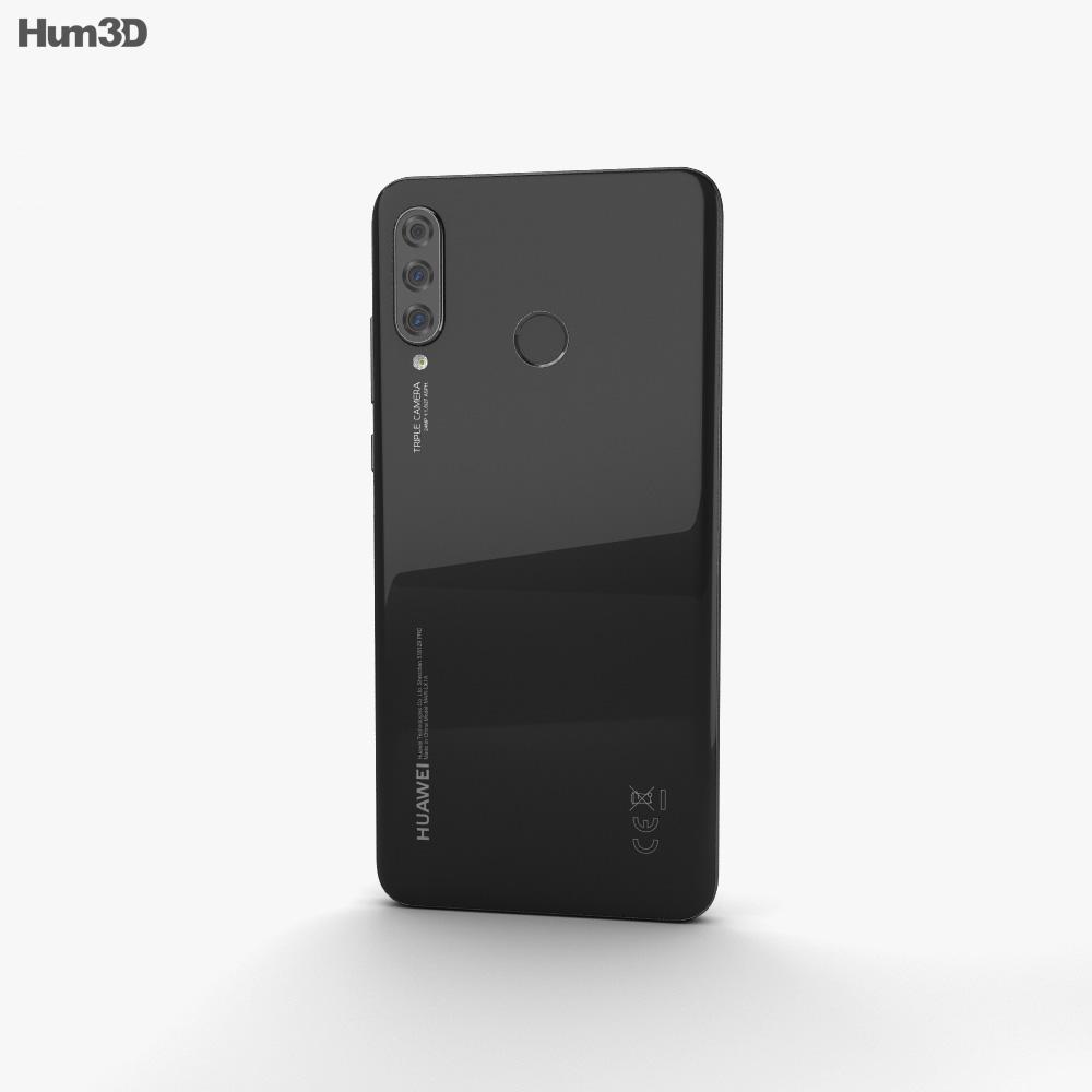 Huawei P30 lite Midnight Black 3d model