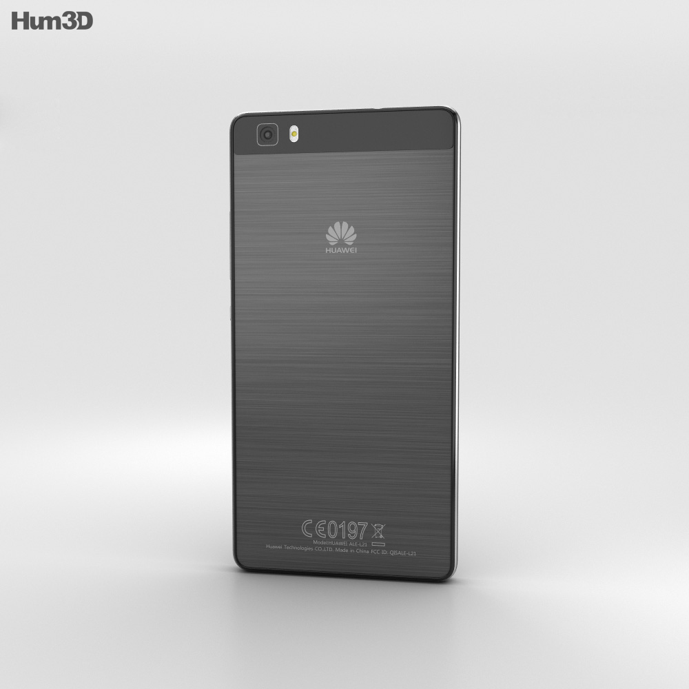 Huawei P8 Lite Black 3d model