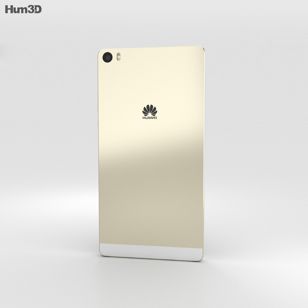 Huawei P8max Mystic Champagne 3d model