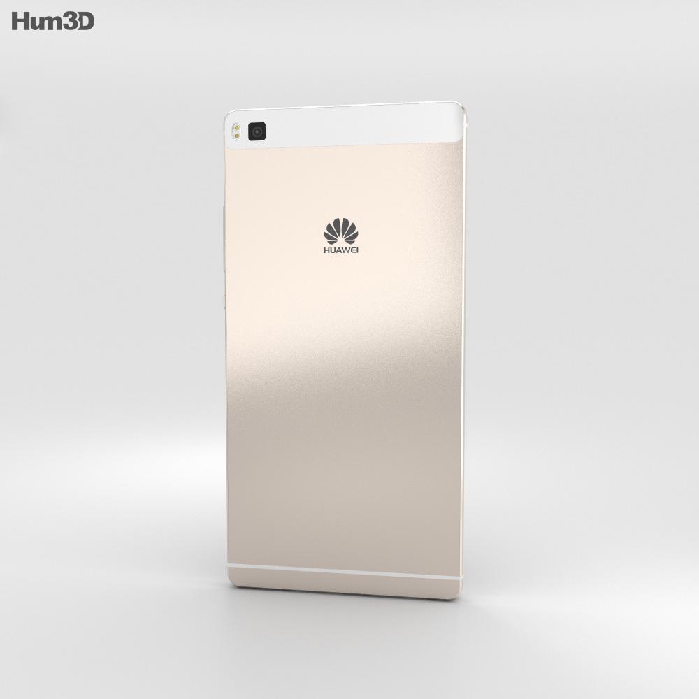Huawei P8 Mystic Champagne 3d model