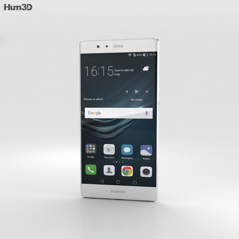 Huawei P9 Plus Ceramic White 3d model