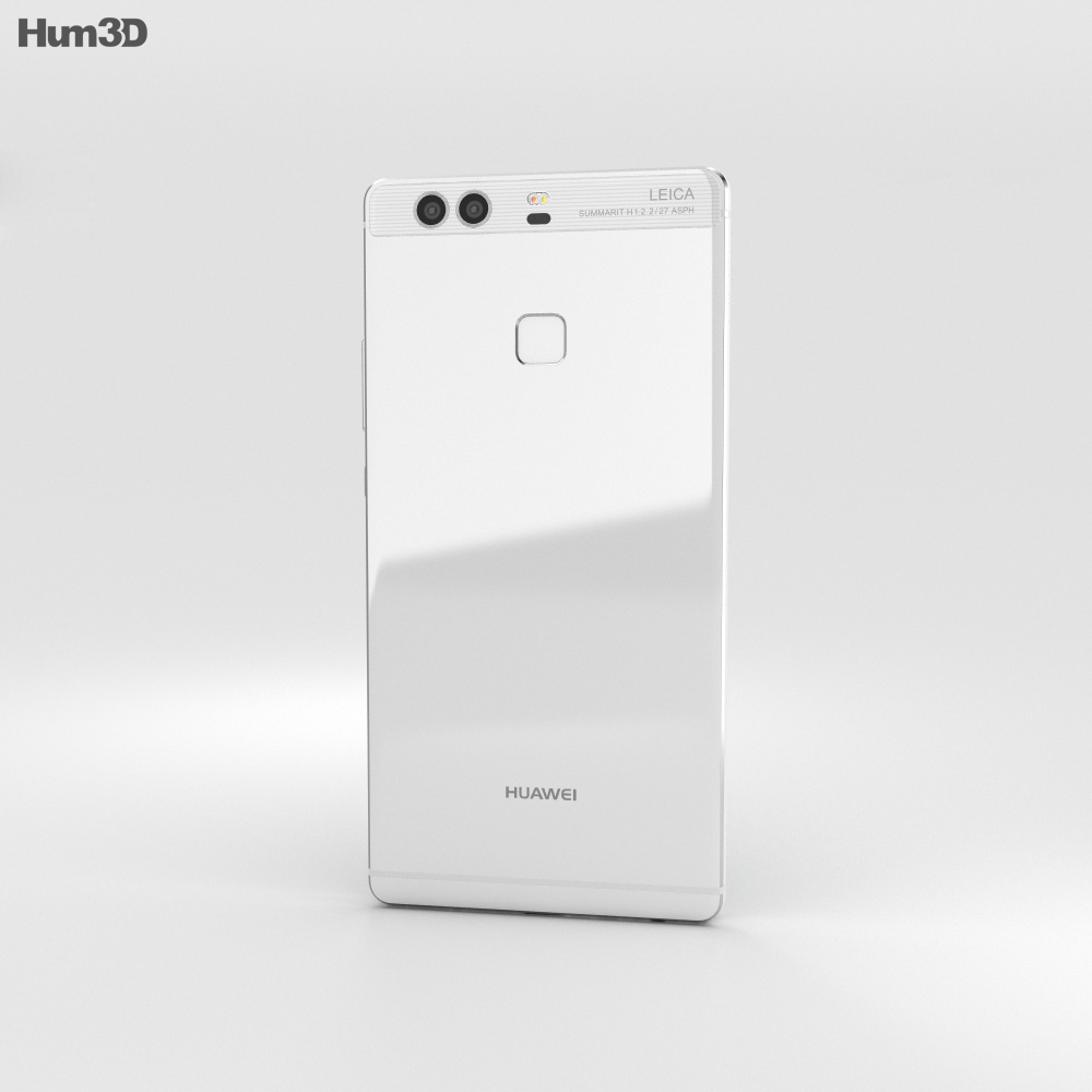 Huawei P9 Plus Ceramic White 3d model