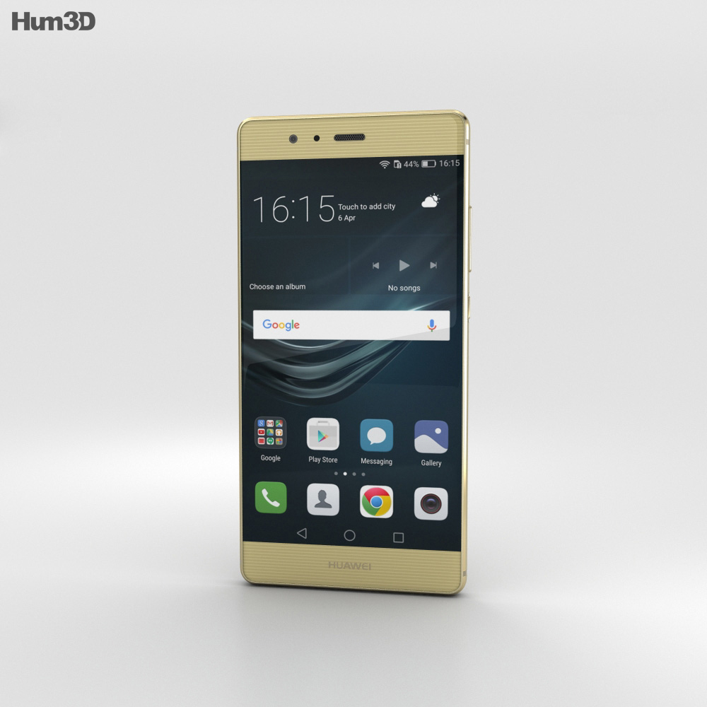 Huawei P9 Prestige Gold 3d model