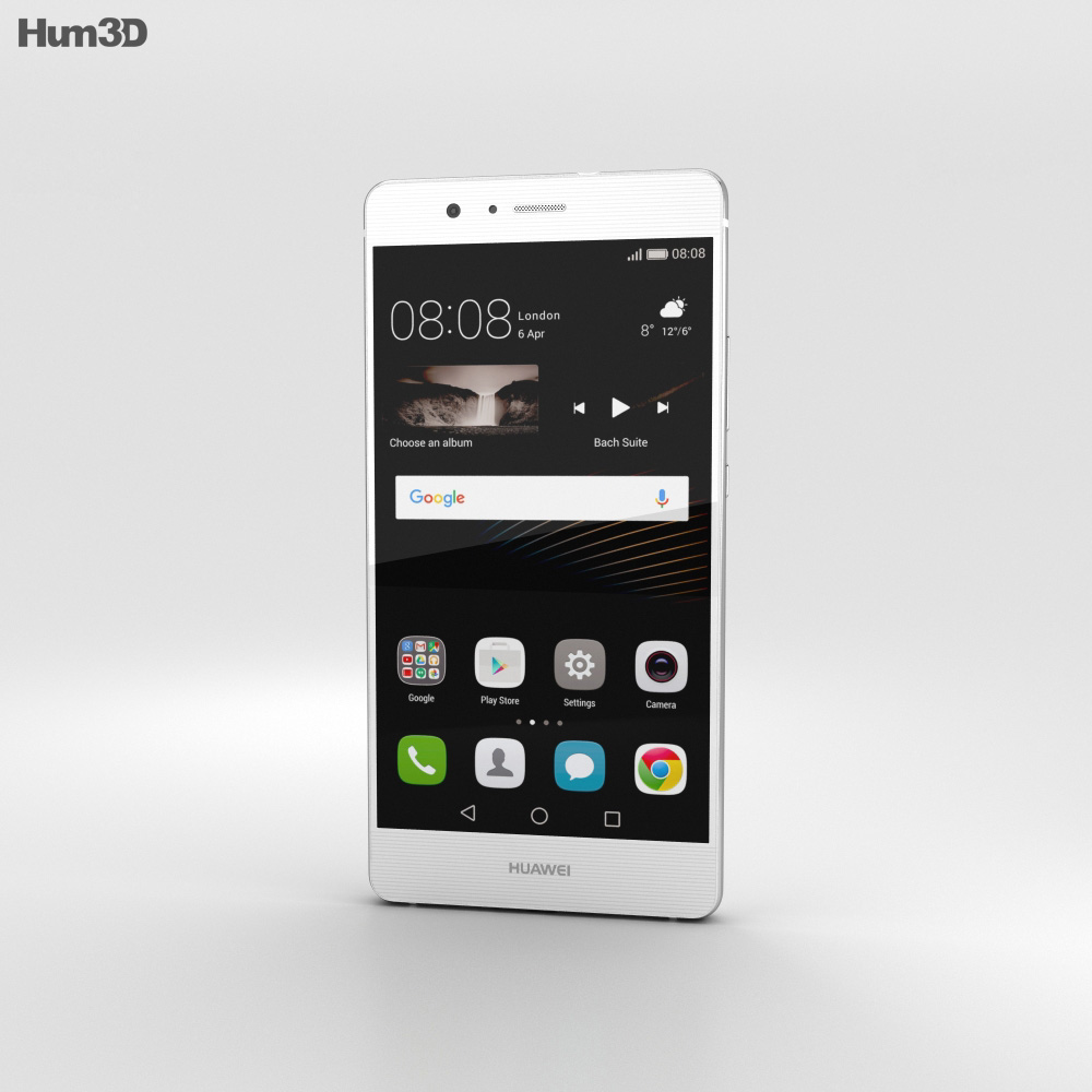 Huawei P9 Lite White 3d model