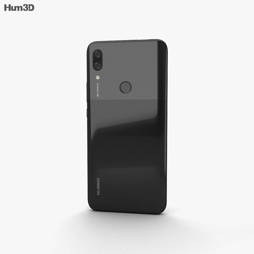 Huawei P Smart Z Midnight Black 3d model