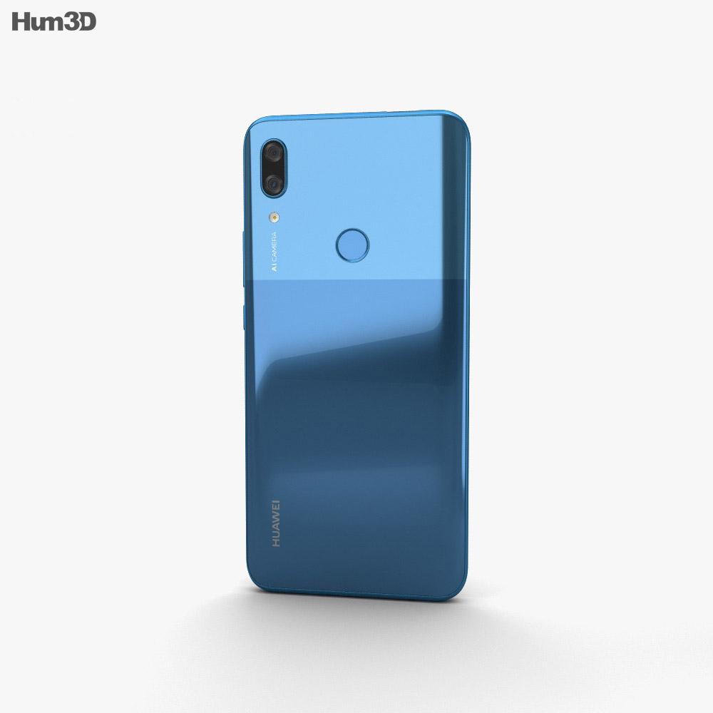 Huawei P Smart Z Sapphire Blue 3d model