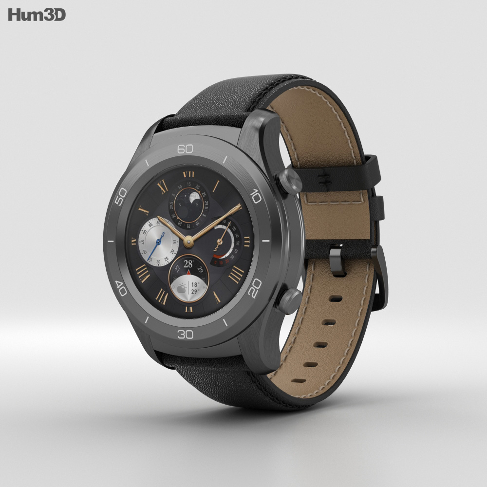 Huawei Watch 2 Classic 3d model