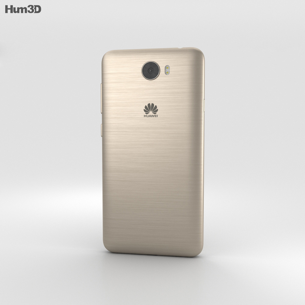 Huawei Y5II Sand Gold 3d model
