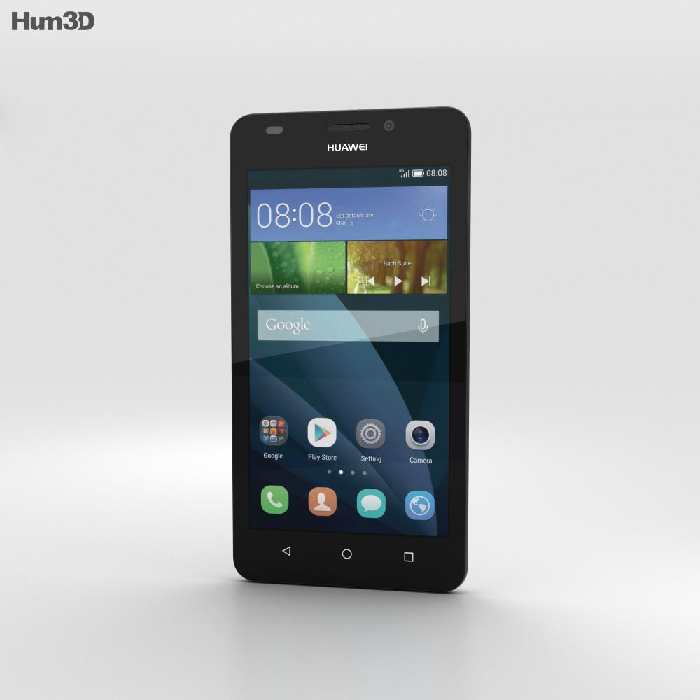 Huawei Y635 White 3d model