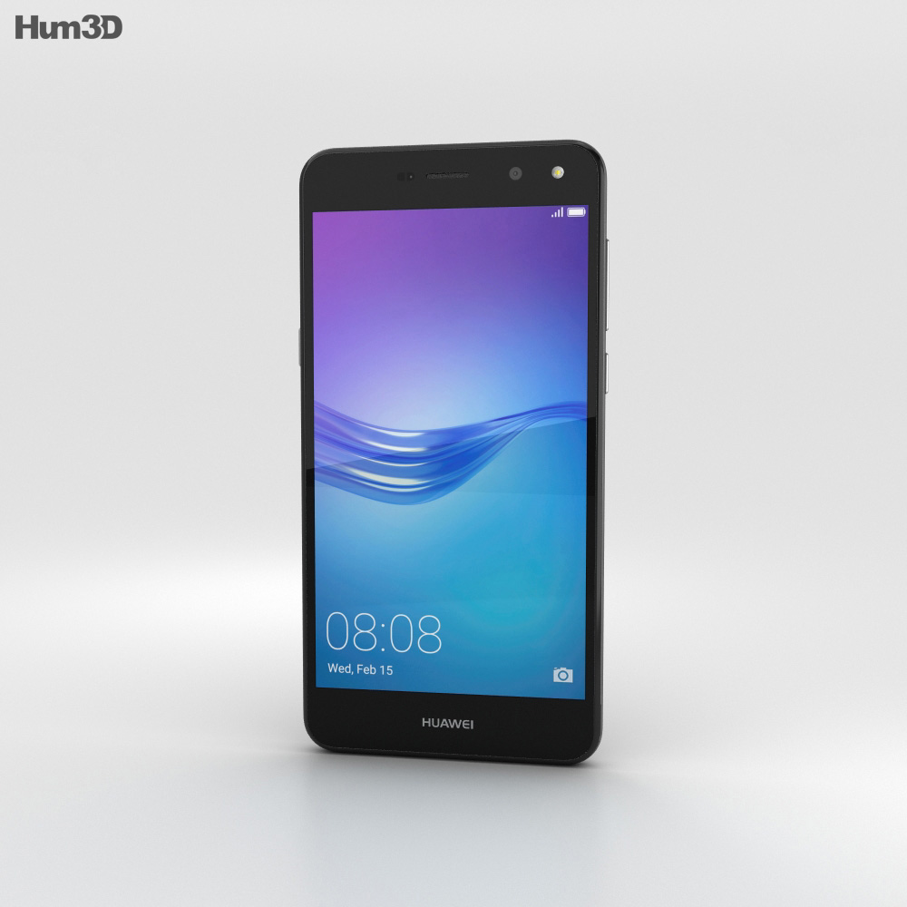 Huawei Y6 Gray 3d model