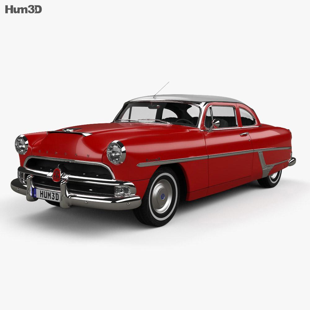 Hudson Hornet 2-door 1954 3d model