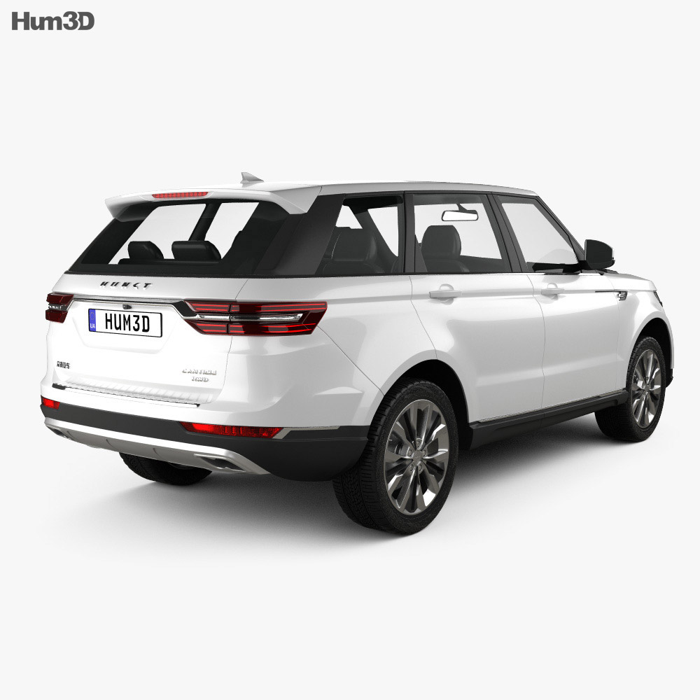 Hunkt Canticie 2019 3d model