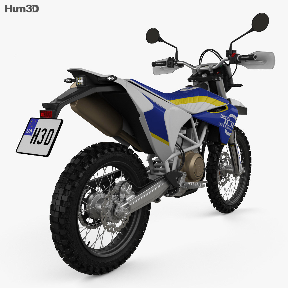 Husqvarna 701 Enduro 2016 3d model