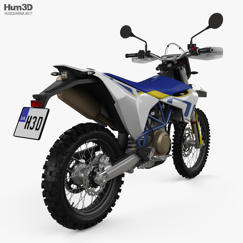 Husqvarna 701 Enduro 2020 3d model