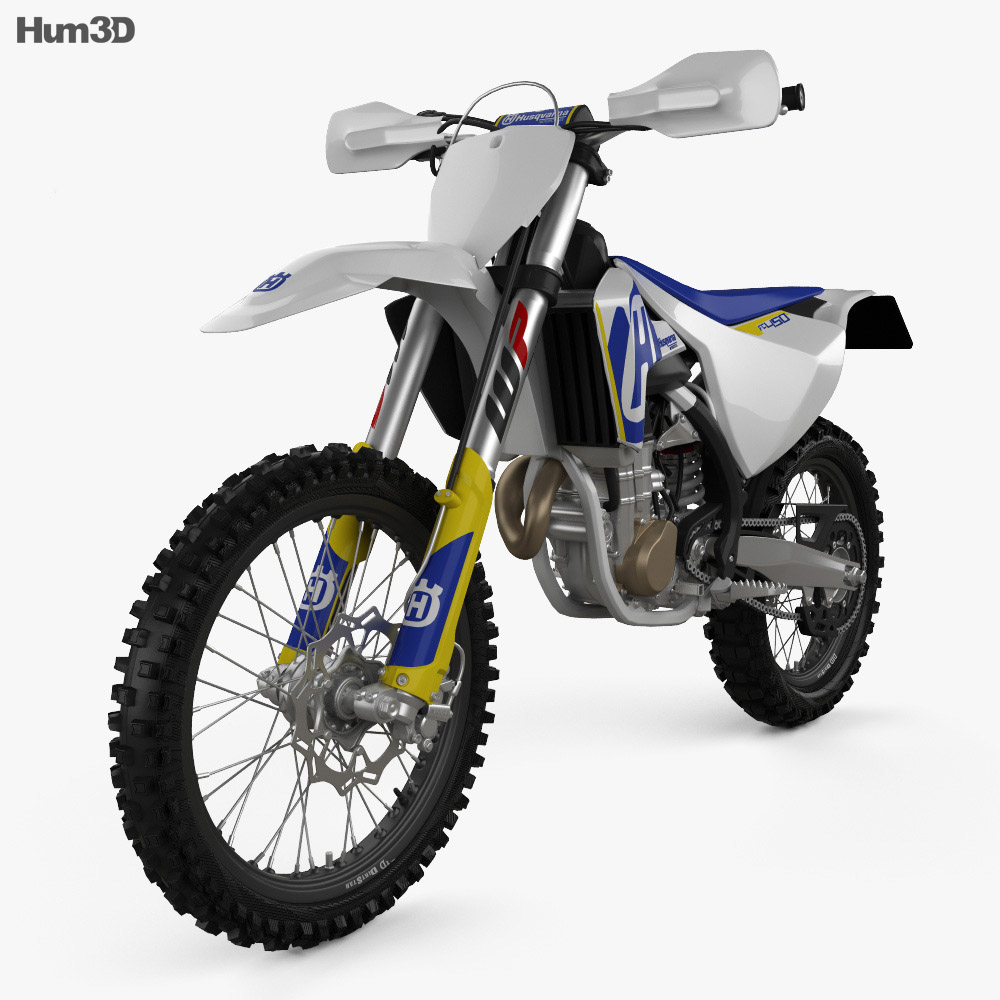 Husqvarna FC 450 2017 3d model