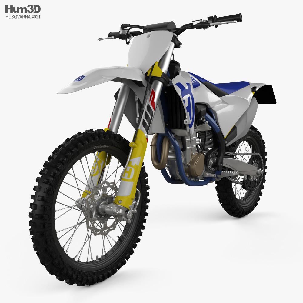 Husqvarna FC 450 2020 3d model