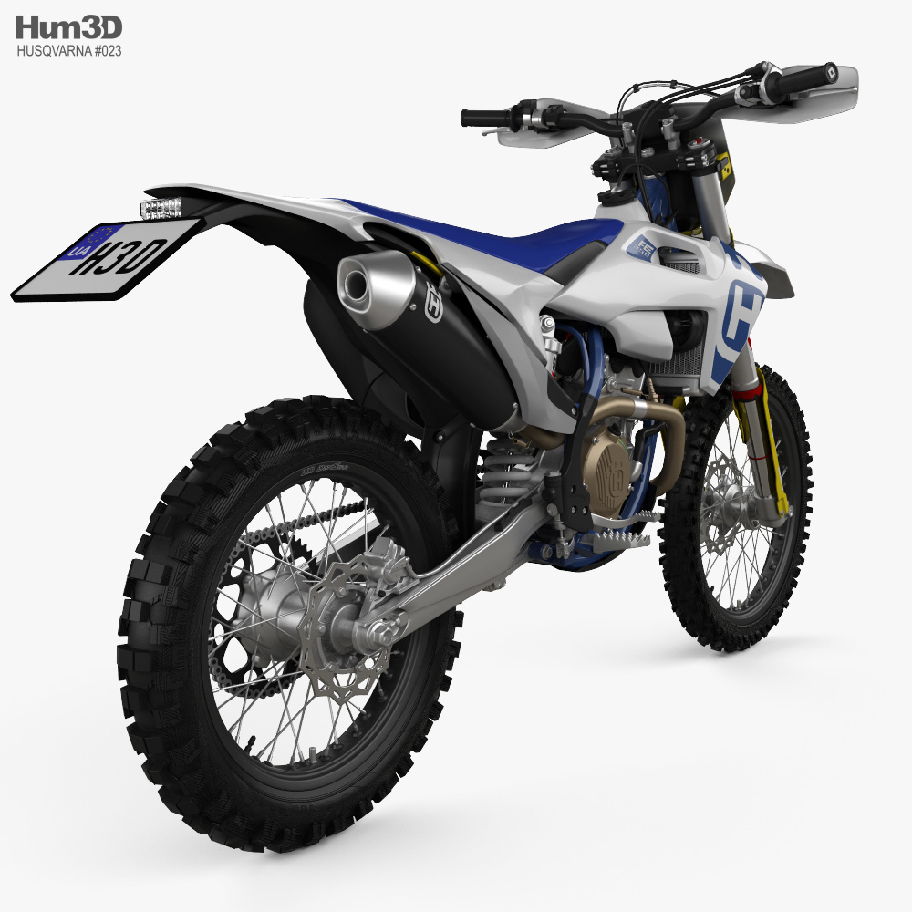 Husqvarna FE 350 2020 3d model