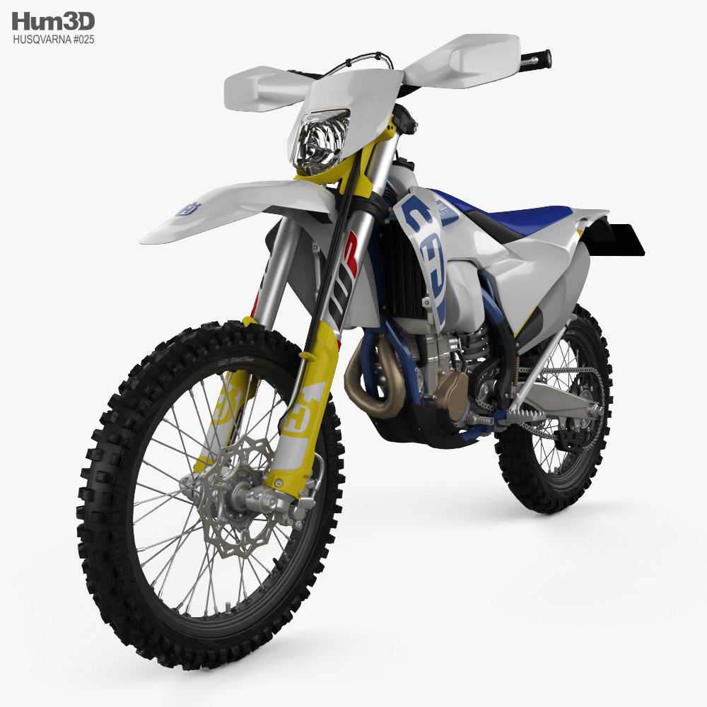 Husqvarna FE 501 2020 3d model