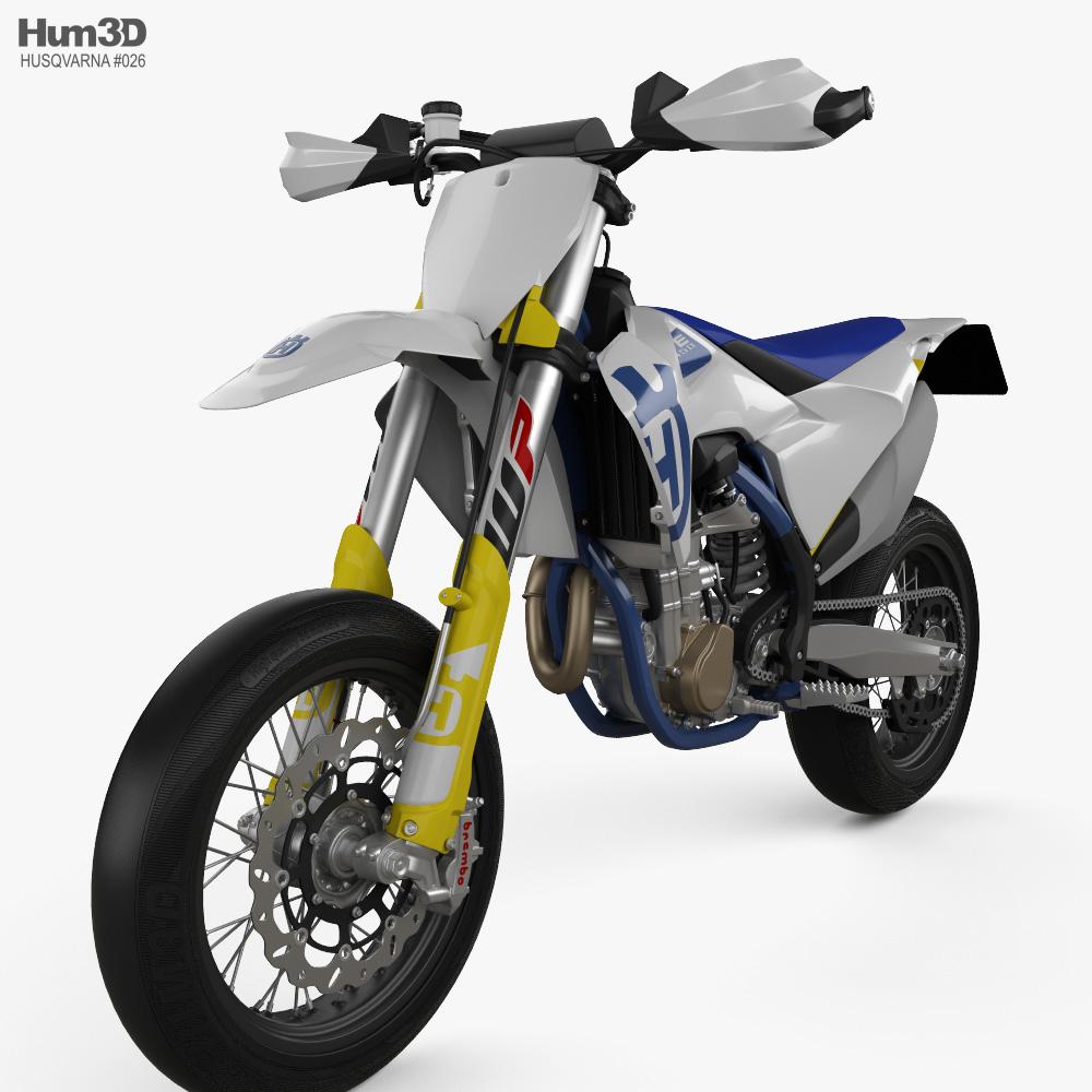 Husqvarna FS 450 2020 3d model