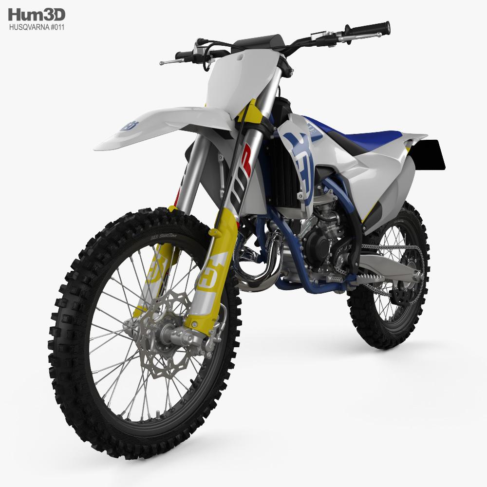 Husqvarna TC 125 2020 3d model