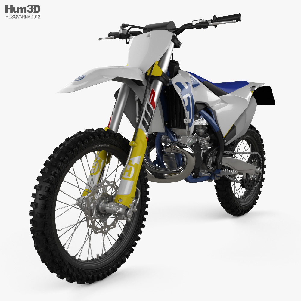 Husqvarna TC 250 2020 3d model