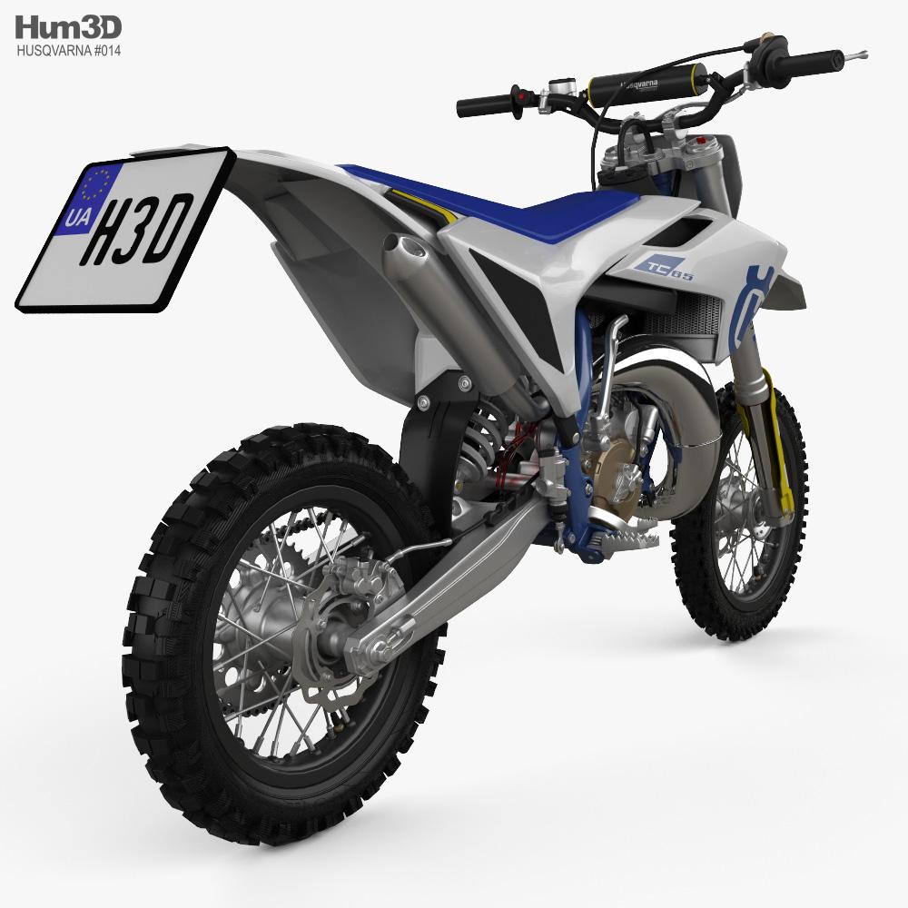 Husqvarna TC 65 2020 3d model