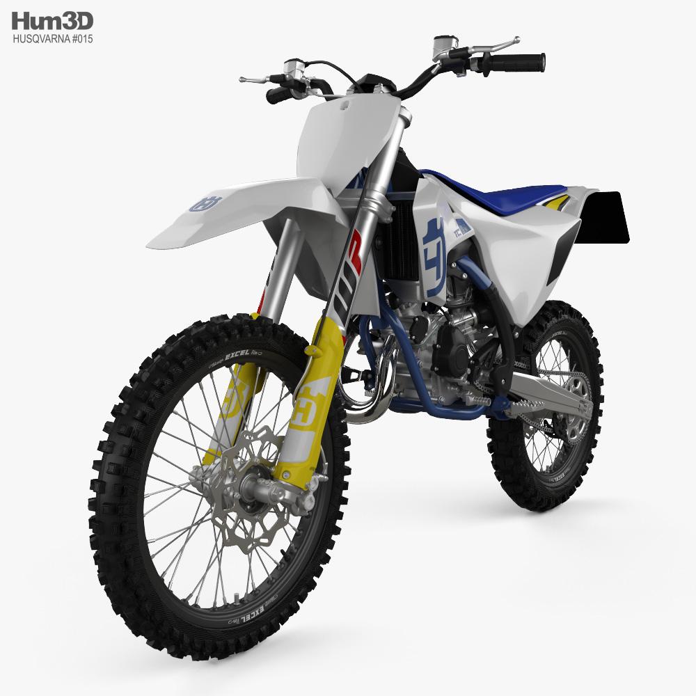 Husqvarna TC 85 2020 3d model
