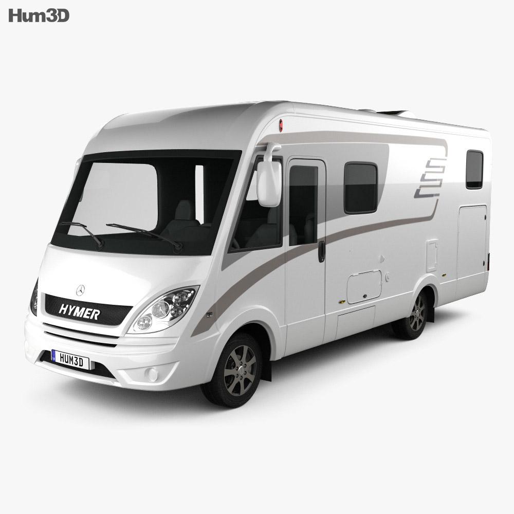 Hymer ML-I Bus 2015 3d model