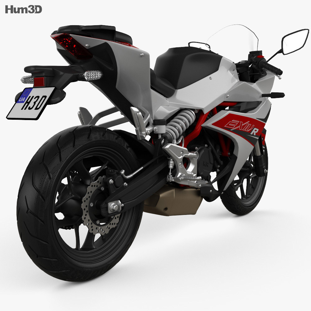 Hyosung GD250R 2015 3d model