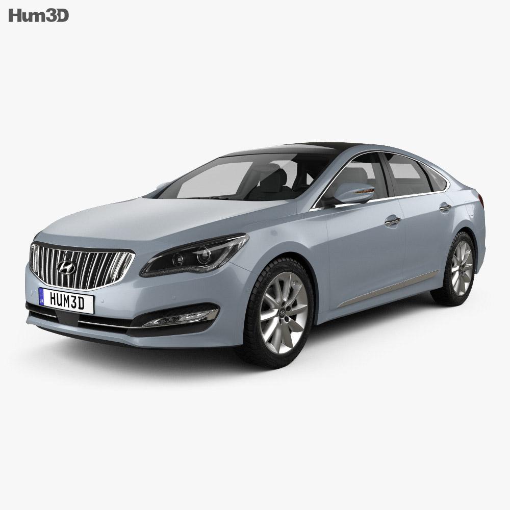 Hyundai AG (Aslan) 2014 3d model
