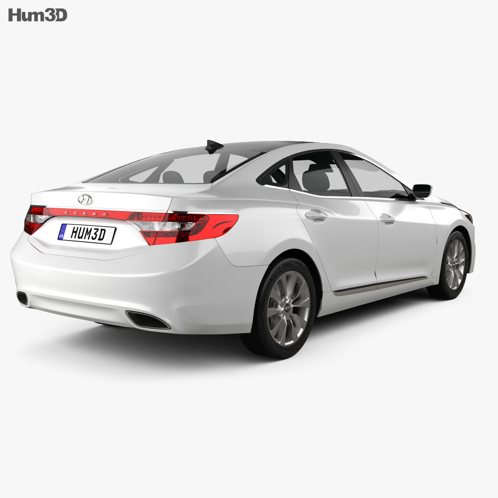 Hyundai Azera 2012 3d model