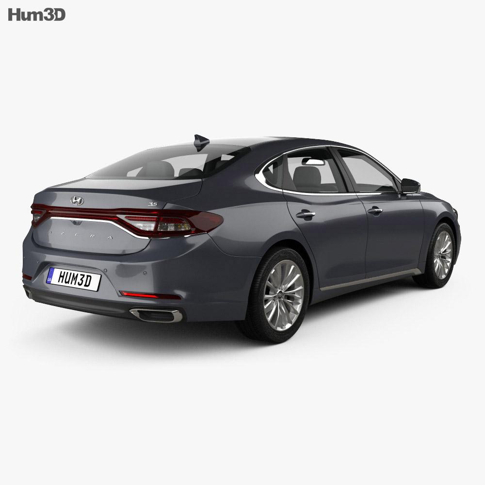 Hyundai Azera (IG) 2017 3d model