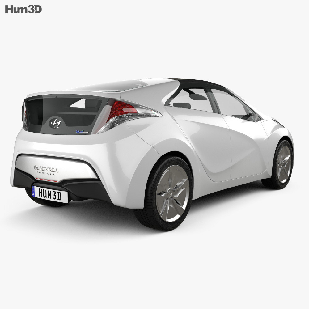 Hyundai Blue-Will 2010 3d model