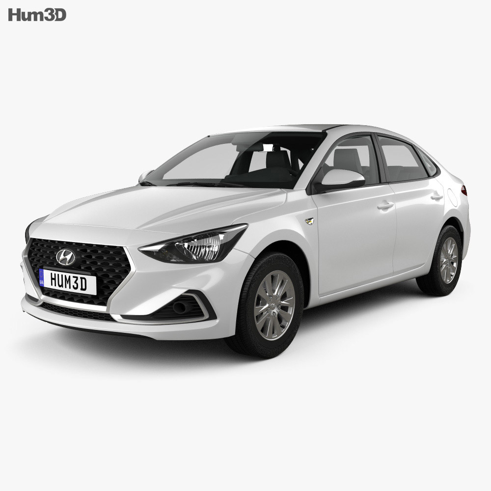 Hyundai Celesta 2018 3d model