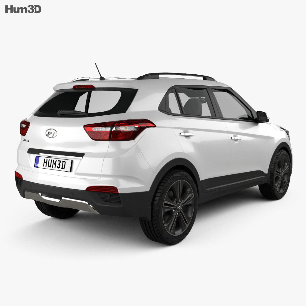 Hyundai Creta (ix25) 2016 3d model