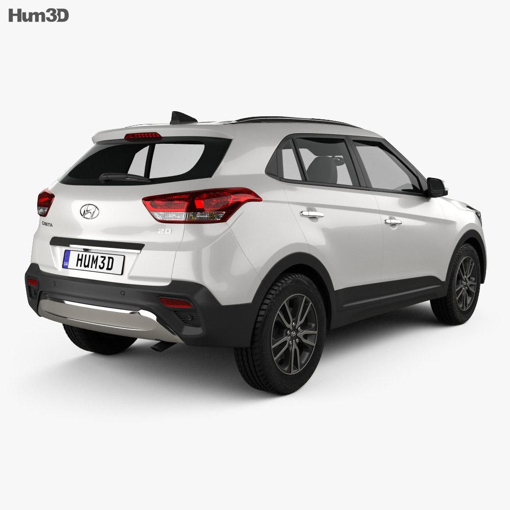 Hyundai Creta 2017 3d model